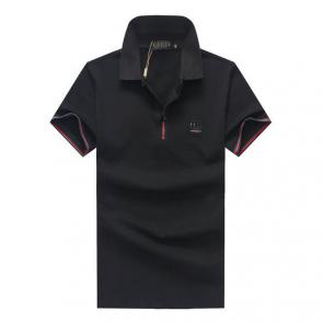 gucci hommes unisex gucci polo t-shirt gg button black